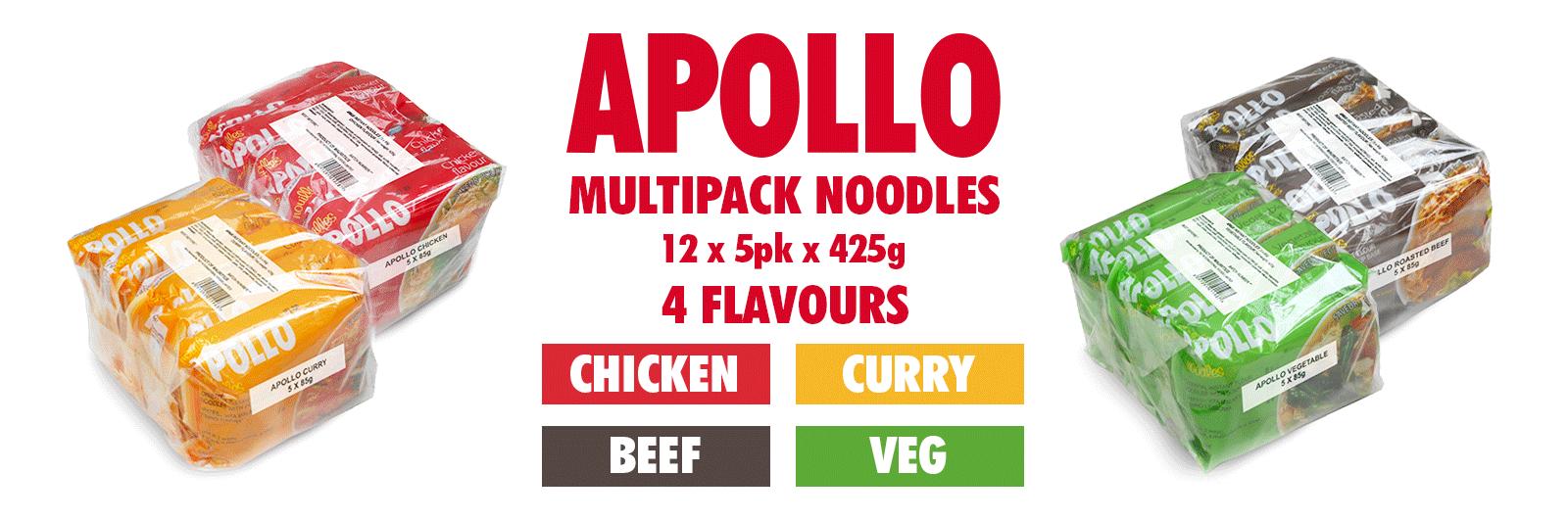 Apollo multipacks